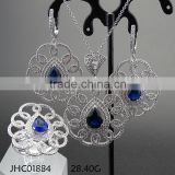 New Arrival Fashionable Earring & Ring & Pendant S925 Jewelry Set
