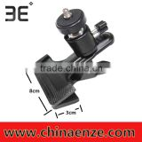 ET-SD01 Multi-function Clamp with Ball Head for Cameras Flash Portable Swivel Flash Clamp Camera Mount Clamp