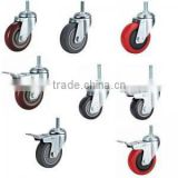 "rubber caster, steel caster wheels 2"" 3"" 4"" 5"" 6""10""                                                                         Quality Choice"