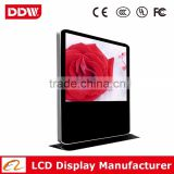 84inch big size Digital marketing factory floor standing digital signage touch screen tablet pos digital signage display stands