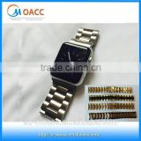 38mm/42mm luxury stainless steel watch band For Apple Watch with adapter