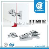 KH-K16 Hot sale cold rold iron soft kichen cabinet hinge, 105-degree cabinet soft close hinge