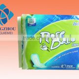260mm sanitary napkin/sanitary pad/sanitary towel/feminine hygiene with cottn surface,without wings