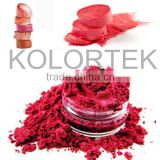 Cosmetic Candy Color Mica Pigment Powders For Lipgloss Lipstick Makeups Manufacturers