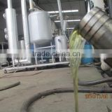 Waste oil distillation to diesel machine by Vacuum pressure