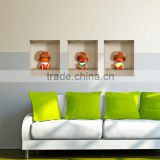 Custom kids wall stickers, home furniture decoration home decoration items 3d wall decor