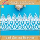 GF6385 factory direct selling new arrival thick african french ivory decorative chemical lace