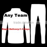 2016 Thai quality Men Long sleeve football training suit Sport Wear Shirt Free shipping to Russia