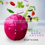 Vegetable mechanical kitchen timer,Mechanical timer 60 minute,Large digital countdown timer