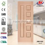 JHK-010 Wood Grain American Popular Hotel Project Beech Natural Door Panel Board                                                                         Quality Choice
