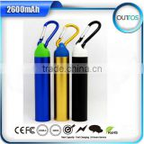 new Portable 2600mAh external battery charger private label