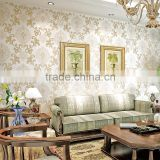 new design non woven sparkle wallpaper wall covering paper