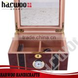 Hot Customized wooden cigar boxes wholesale for sale