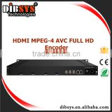 4 channel HD(1080p) H 264 video encoder hardware support MPTS/SPTS over IP,ASI output