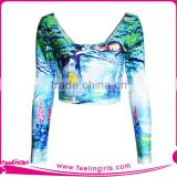 wholesale customized cheerleading crop tops for women                                                                         Quality Choice