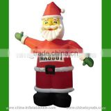 Hot selling christmas inflatable santa claus/ outdoor christmas decorations/ customized inflatable santa claus