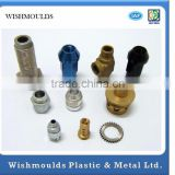 Customized Factory high precision stainless steel/aluminum/brass metal cnc turning parts ISO9001