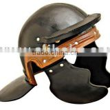 Roman Leather Helmet
