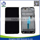 100% New Original LCD Display Screen+Touch Digitizer Screen with Frame For Meizu MX3 LCD
