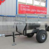 ATV tow-behind garden dumper box trailer
