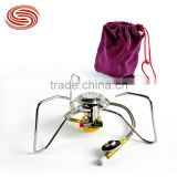 Wholesale or Retail Furnace End Portable Burner Split Burner Outdoor Camping Picnic Cooker Automatic Ignition Device