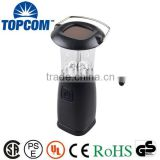 6 LED Portable Hand Crank Torch Light 3W Solar Camping Lantern                                                                         Quality Choice                                                     Most Popular