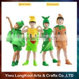 High quality best selling carnival cosplay fruit and vegetable costume kids masquerade costume
