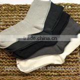 Men premium elite white black mens dress cotton socks wholesale                                                                         Quality Choice