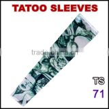 TS71 Favorites Compare 92% nylon and 8% spandex multi colors customized logo arm tattoo sleeves stockings