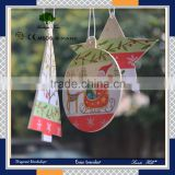 Custom cute Christmas decor paper card hanging car air freshener for marketing activity                                                                         Quality Choice                                                                     Supplier'
