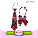 2015 Hot sales!Lovely red gradient plaid cool wholesale baby cable tie