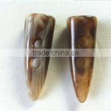 Coat Plastic Horn Toggle Button