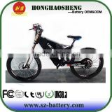 52V 20Ah lithium ion ebike battery for ebike with 500 cycles lifetime lithium ebike battery