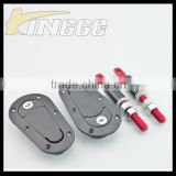 High Quality Black Racing Car Universal Hood Pin Lock Kit With Key