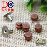 6mm Good Quality Jeans Button Rivet and Studs Custom Leather Rivets for Jean