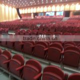 Gymnasium bleacher sport facility telescopic tribune telescopic folding plastic seating flex grandstand. portable bleacher