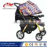 Fuctions Deluxe Reversing Handle mother baby stroller bike / Comfortable 3 in 1 baby stroller with big wheels / stroller baby