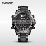 2015 New Arrival Weide Brand Luxury Men Quartz Watch Dial Watches Brief Elegant Mens Watch Stainless Steel