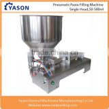 50-500ML Single Head Semi Automatic Paste Shampoo Can Filling Machine