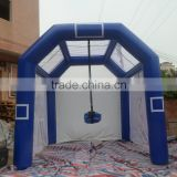 2015 hot commercial inflatable soccer goal post games