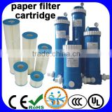 Swimming pool paper cartridge sand filter                                                                         Quality Choice