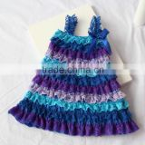 Korean fashion girl style dresses different colors baby 1 year old party flowers girl dress pattern party
