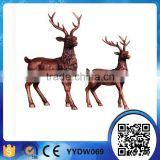 wholesale price small mini resin craft deer figurines