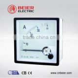 BE82-A 82*82 one phase analog ac dc voltage digital panel meter 0-30A