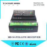 high quality FTA DVB-S2 Receiver MPEG4 HD Satellite Receiver Biss