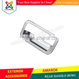 AMAROK REAR HANDLE BOWL ABS CHROME CAR ACCESSORIES