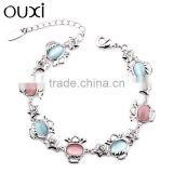 OUXI new arrival famous brand bracelet made with Austria crystal 30291-1