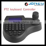 3D Keyboard PTZ Joystick with LCD Screen for Speed Dome Camera