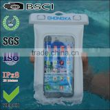 pvc waterproof case for samsung/mobile phone waterproof case/waterproof case for smartphone