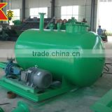 Gold mining machinery filtering process elevated water tank